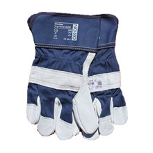 Work Gloves, blue, size CE 8 Ox-On