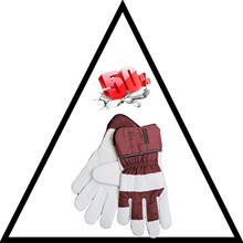 Winter Gloves, size CE 10 Ox-On
