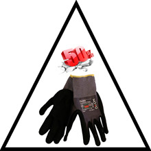 Glove Flexible supreme 1600, Size 10