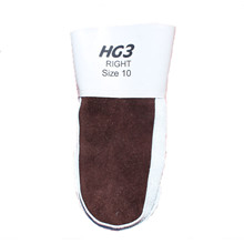 Glove HG3 right. Moose skin mitten Grey