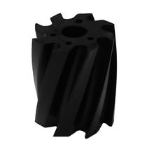 Skraberulle, snoet med uret, 8 tands, sort, shore 92, Ø115 mm x 130 mm