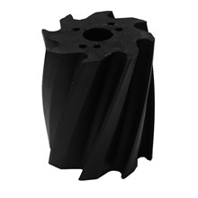 Scrape roll, Twisted CW, 8T, Black SH92 Ø132 x 158mm