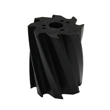 Scrape roll, Twisted CCW, 8T, Black SH92 Ø132 x 158mm