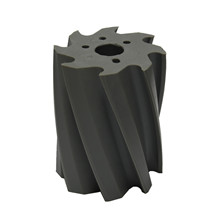 Scrape roll, Twisted CCW, 8T, Grey SH88 Ø132 x 158mm