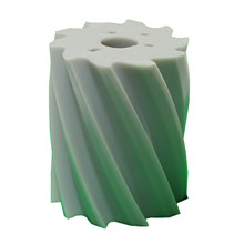 Scrape roll Twisted CCW, 10T, Grey SH88 Ø132 x 158mm