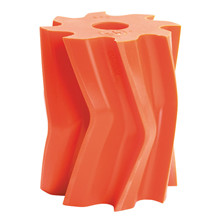 Scrape roll, V-shape, 8T, Orange SH84 Ø132 x 158mm