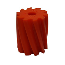 Scrape roll, Twisted CCW, 10T, Orange SH84 Ø132 x 158mm