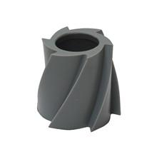 Skraberulle HG 100 mm grå, shore 90 Rotomax / Jasop