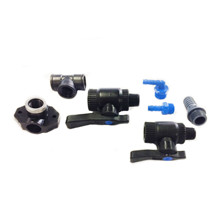 Mounting fittings for HG Kit valve