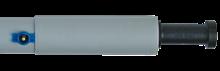 Forelco thermorør 6 rums 200, blå ventil  (til stålkonsol)