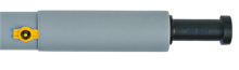 Forelco thermorør 6 rums 200, gul ventil (rustfri stift)  (til stålkonsol)