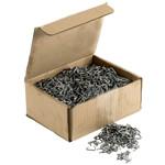 HG Zszywki pierścieniowe, ZinkAlu 12,5mm 3 kg w pudełku (około 3875 szt.)