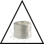 String, Poly Kordel, roll of 900 meter