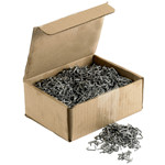 HG Ring clips ZinkAlu 9mm 3 kg box (est. 4500 pcs)