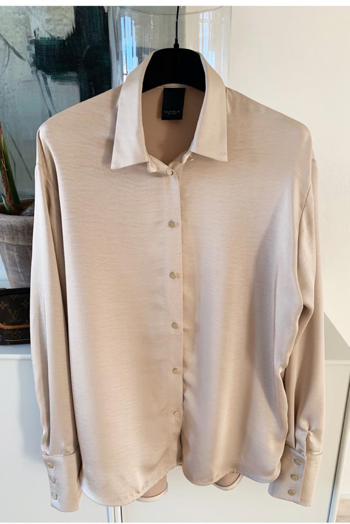 f6aab004 Gerta shirt, sand - One Two fra New Wear - Altid gratis fragt