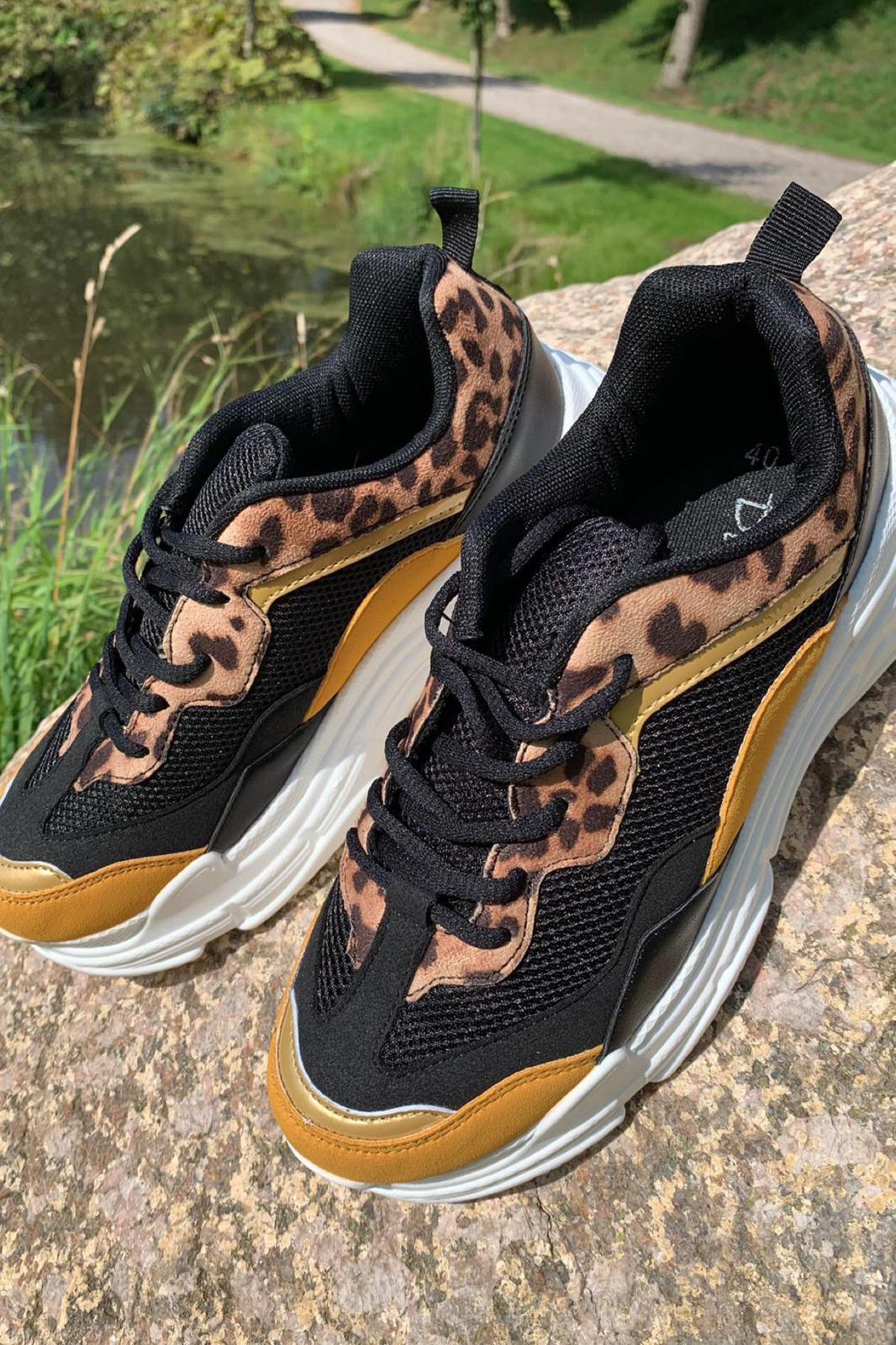 Moves sneakers, BLACK kondisko