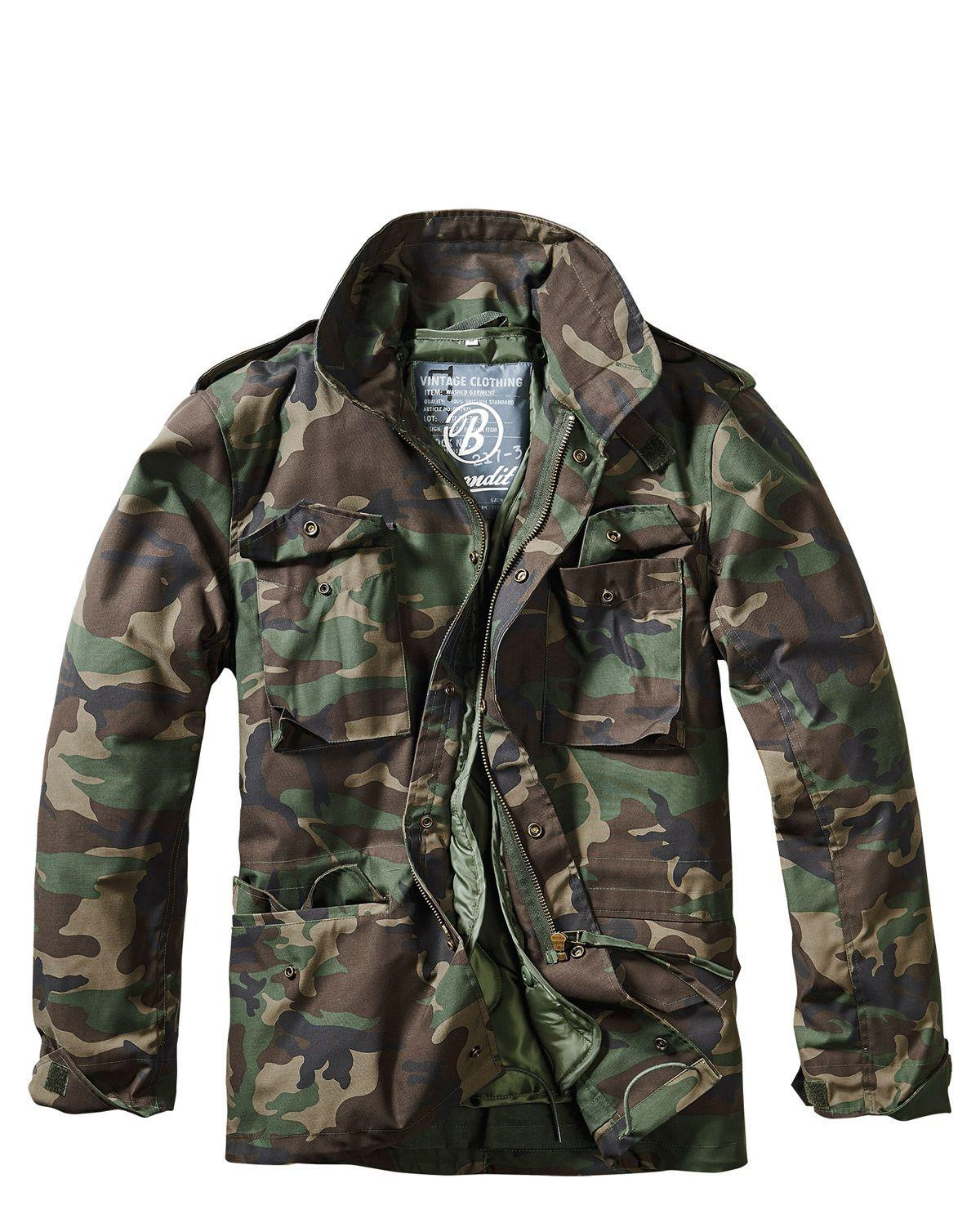 Buy Brandit M65 Giant Jacket | Money Back Guarantee | ARMY STAR