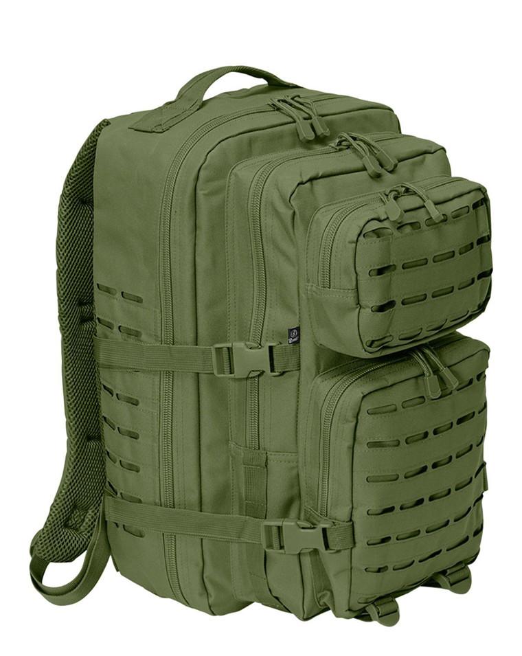 Us Assault Pack Large Coyote Brown Ryggsekk Laser cut