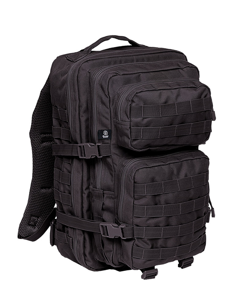 Brandit U.S. 3 Day Assault Ryggsäck 50 Liter (Black Camo