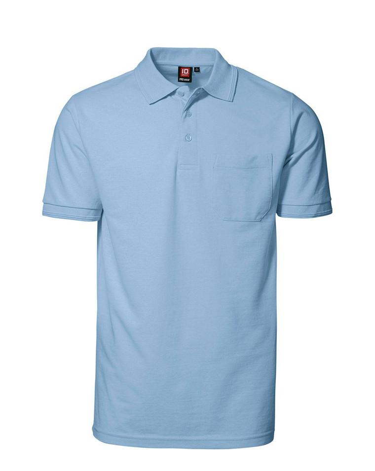 Køb ID PRO Wear Poloskjorte m. Lomme til Herre | Enkel Retur