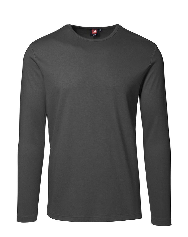 ID Tætsiddende Langærmet T shirt