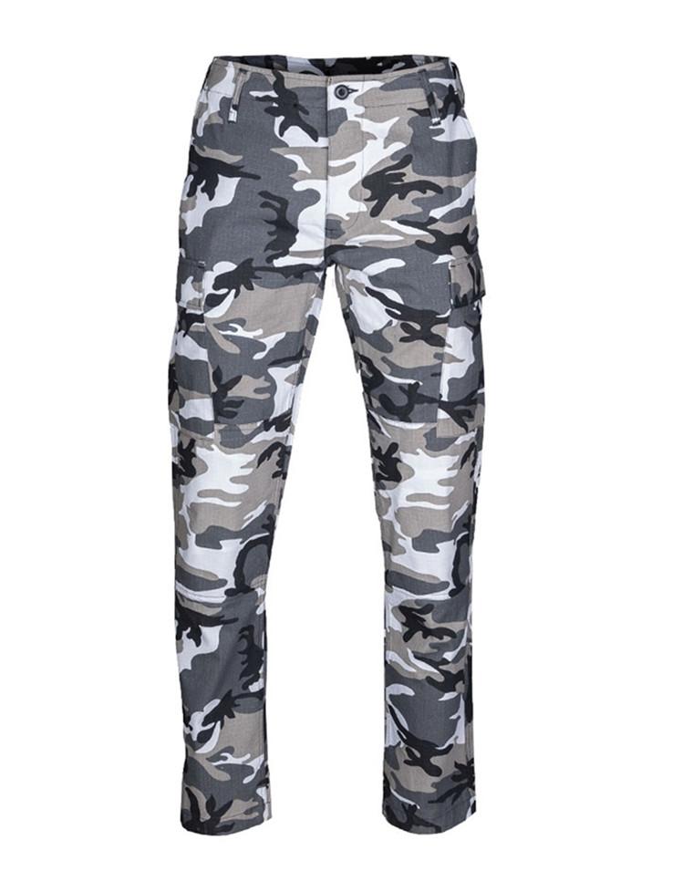 grå vita camouflage byxor