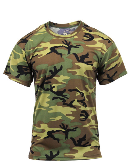 Quick Dry Performance Military Moisture Wicking T-Shirt 2735 67947 2423 Rothco