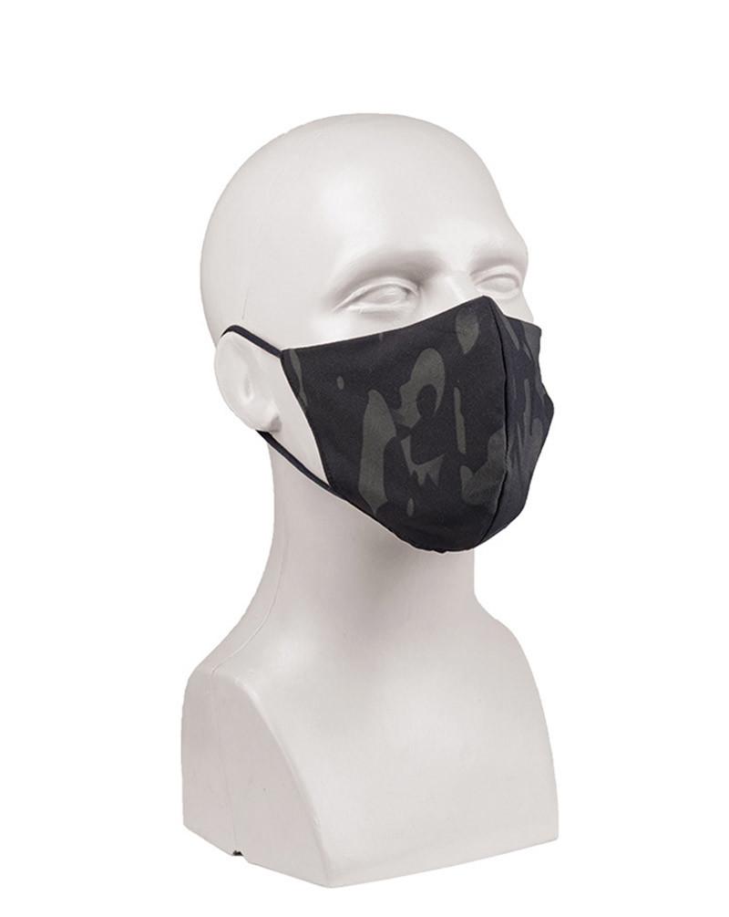 Mil-Tec Ansiktsmasker i tyg (Inte godkänd av myndigheterna) (Dark Camo, One Size)
