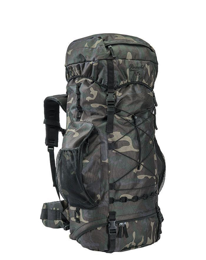 Image of   Brandit Aviator Rygsæk - 65 liter (Black Camo, One Size)