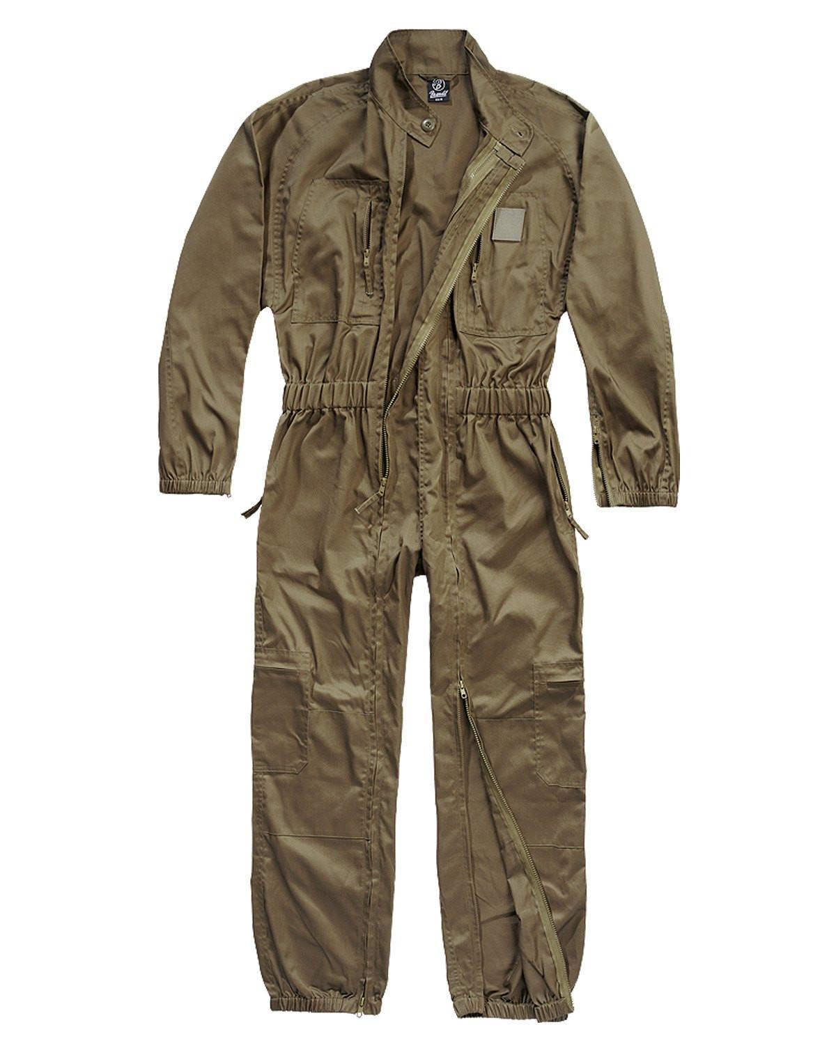 Image of   Brandit Heldragt - Flightsuit u. Foer (Oliven, 2XL)