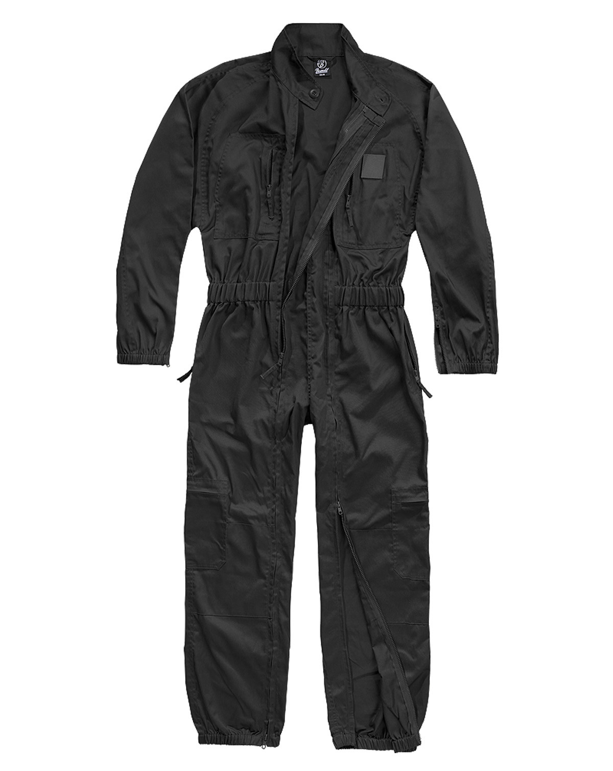 Image of   Brandit Heldragt - Flightsuit u. Foer (Sort, 4XL)