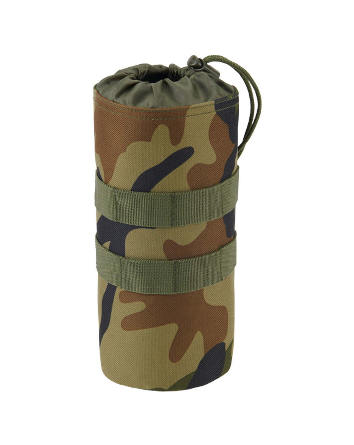 Image of   Brandit Flaskeholder 1 MOLLE-kompatibel (Woodland, One Size)