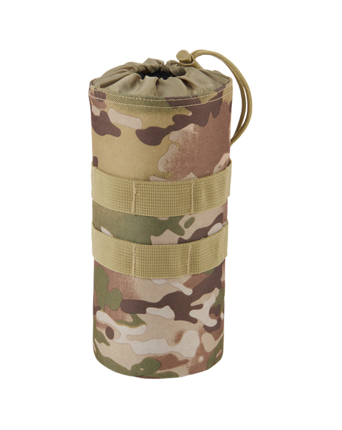 Image of   Brandit Flaskeholder 1 MOLLE-kompatibel (Tactical Camo, One Size)