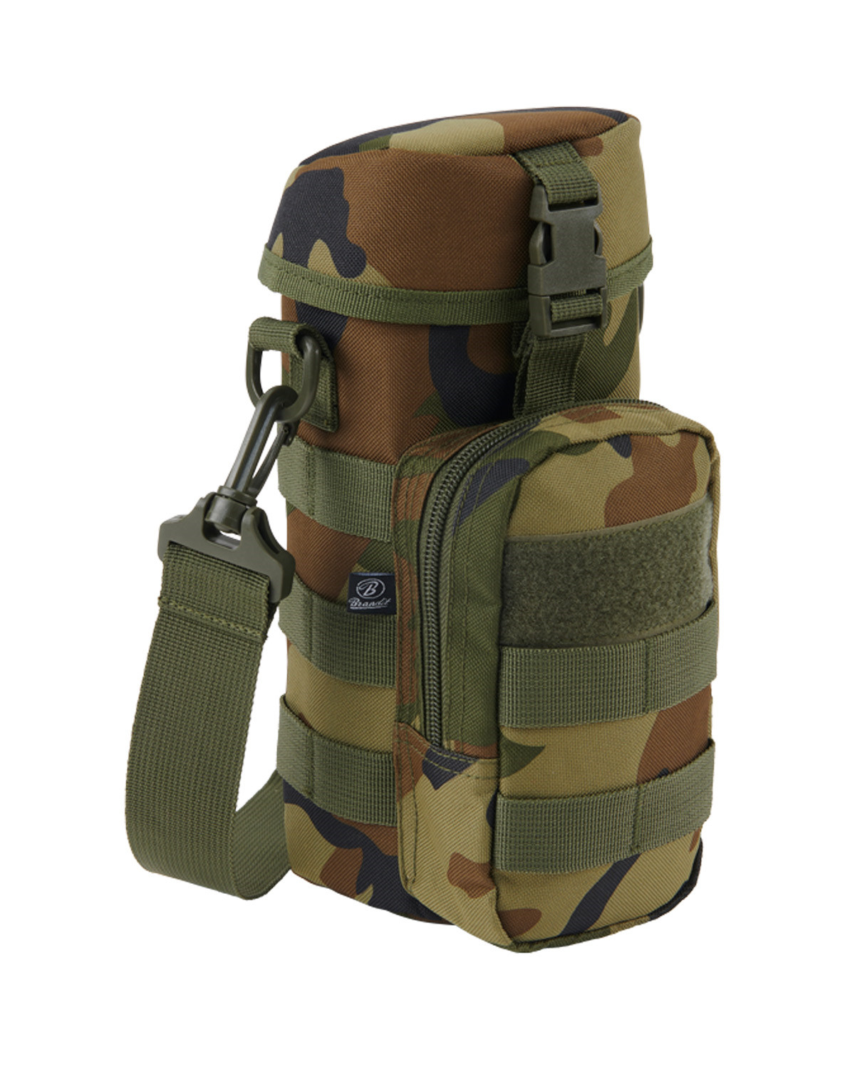 Image of   Brandit Flaskeholder 2 MOLLE-kompatibel (Woodland, One Size)