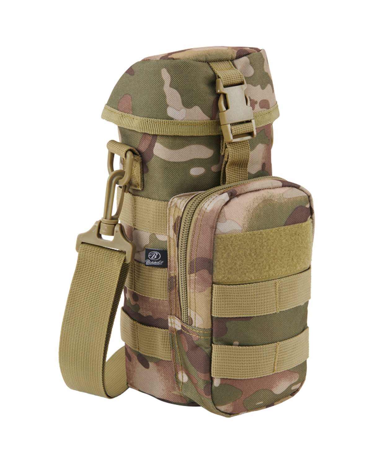 Image of   Brandit Flaskeholder 2 MOLLE-kompatibel (Tactical Camo, One Size)