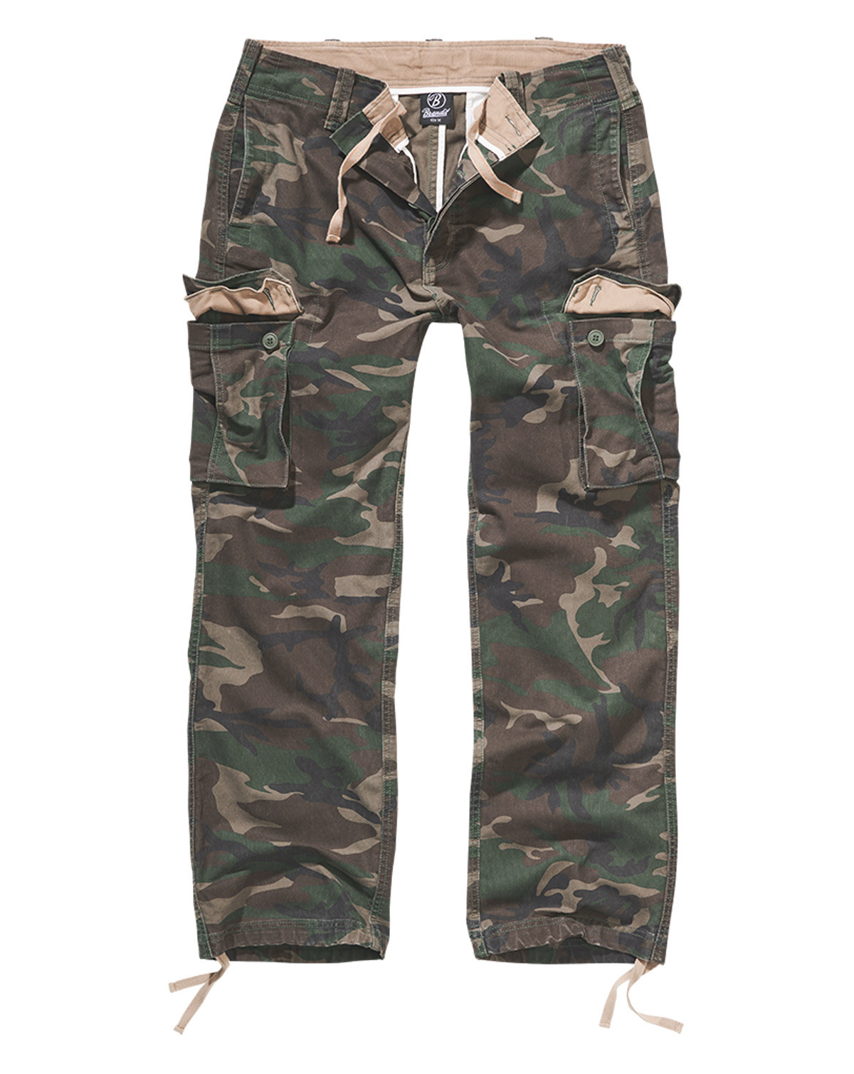 Image of   Brandit Heavy Weight Bukser (Woodland, 2XL)