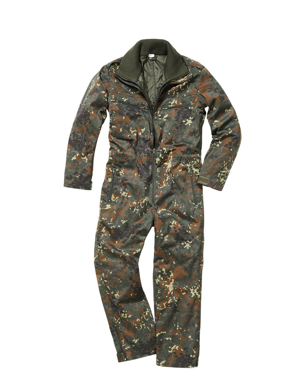 Image of   Brandit Heldragt - Thermoforet (BW Flecktarn Camo, S)