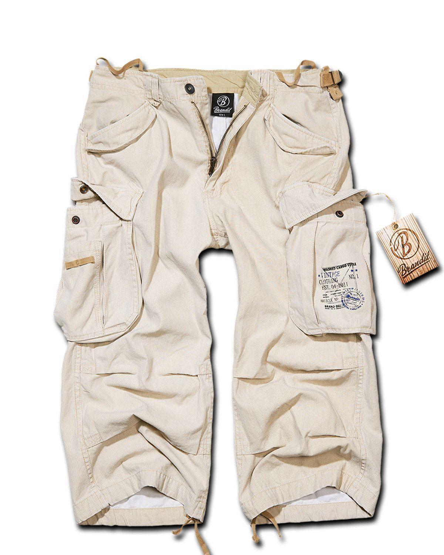 Image of   Brandit Industry Vintage 3/4 Pants (Beige, L)