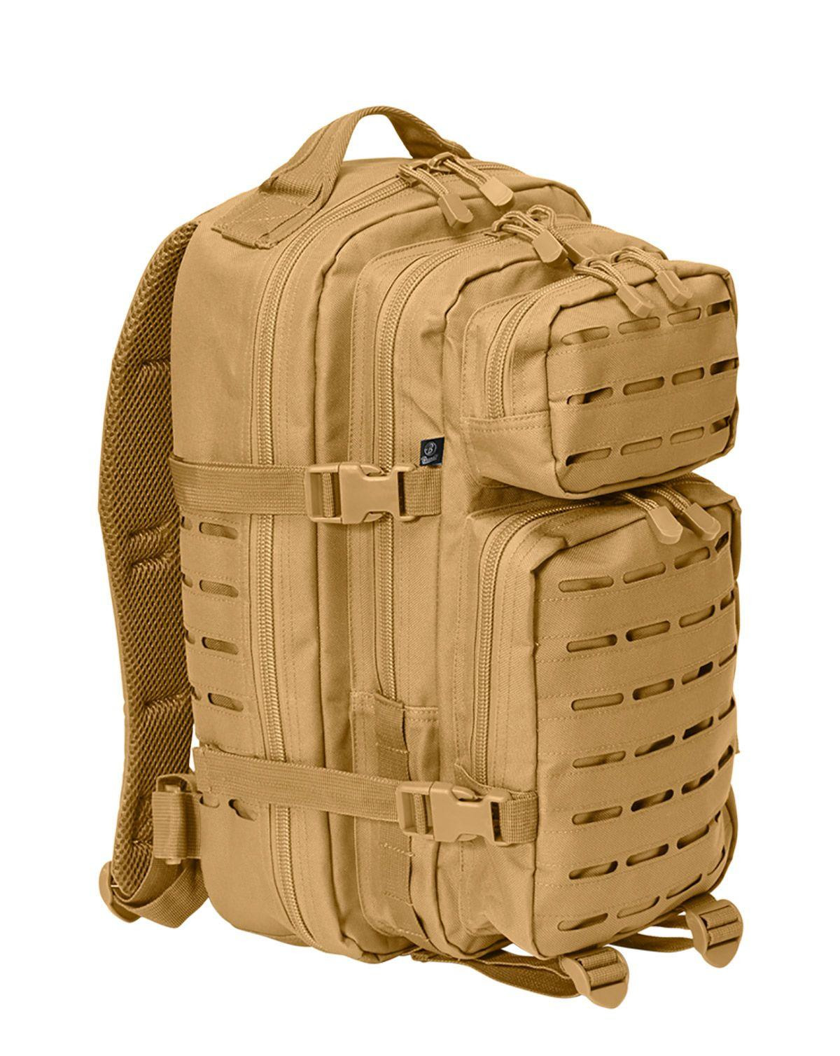 Image of   Brandit Laser Cut Assault Rygsæk - 35 Liter (Coyote Brun, One Size)