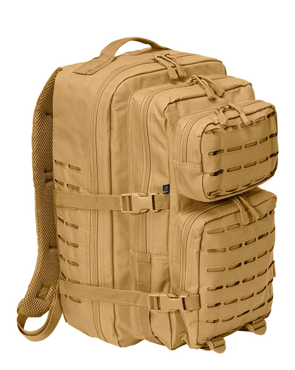 Image of   Brandit Laser Cut Assault Rygsæk - 40 Liter (Coyote Brun, One Size)