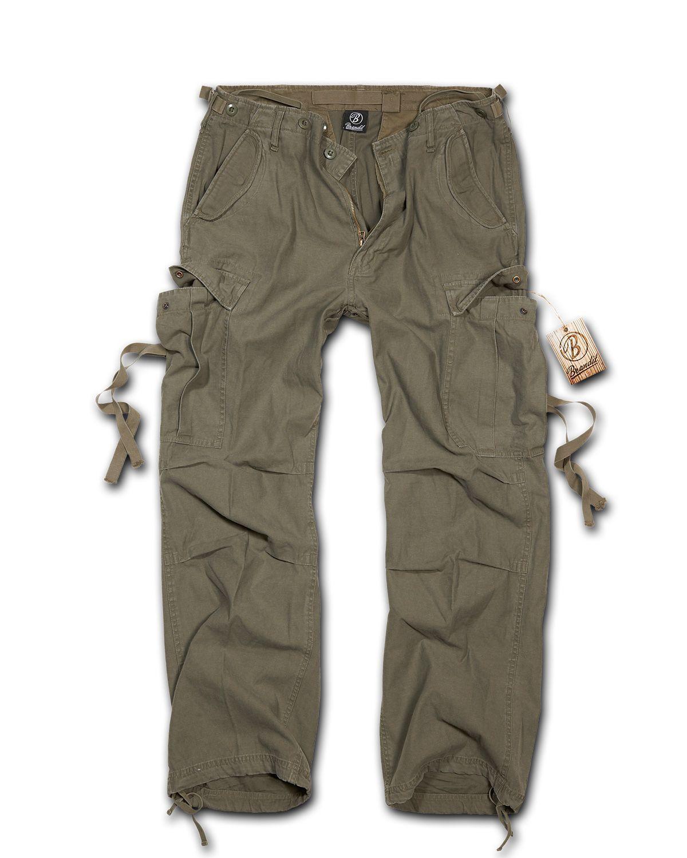 Image of   Brandit M-65 Vintage Bukser (Oliven, 2XL)