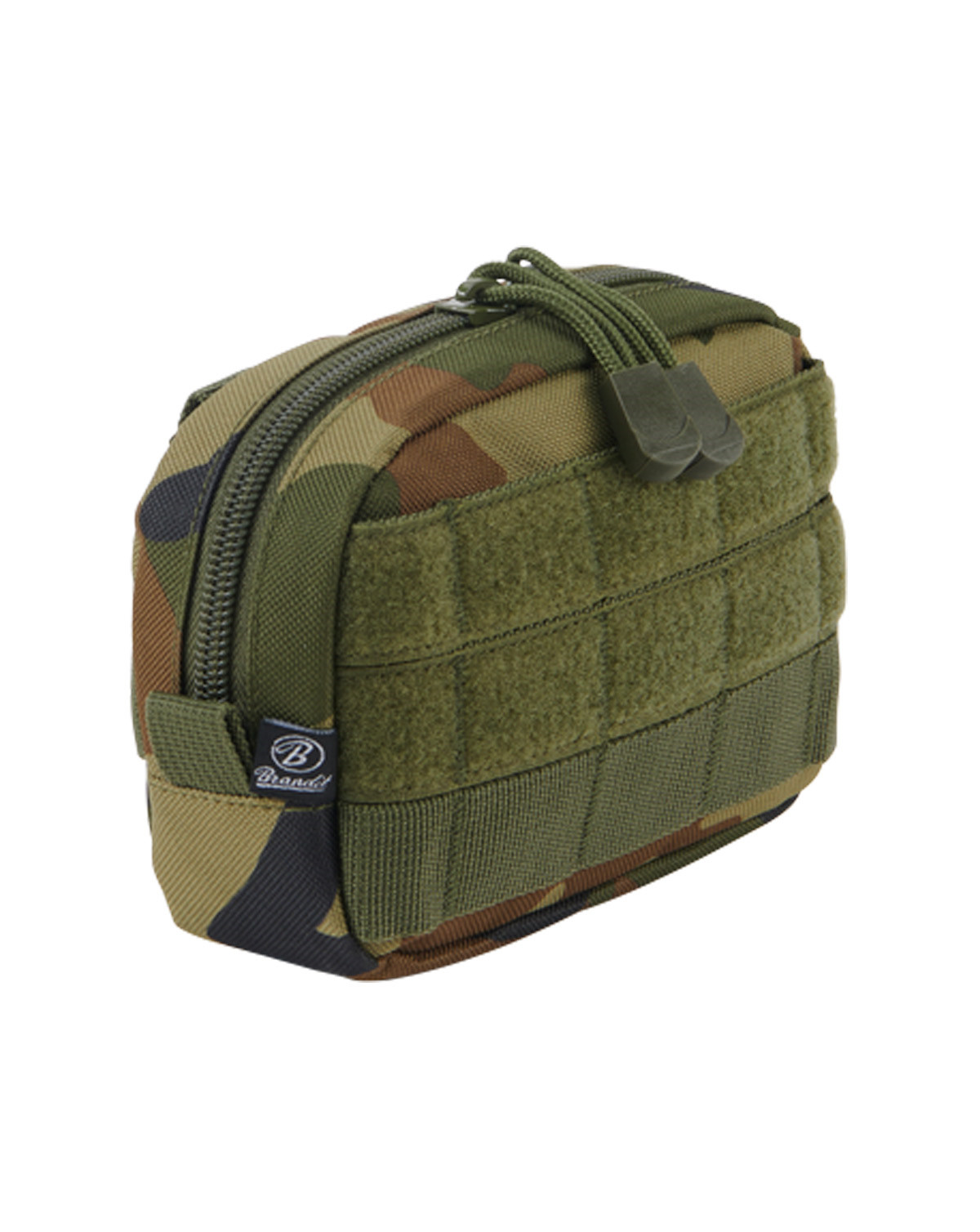Image of   Brandit MOLLE Compact Pouch (Woodland, One Size)