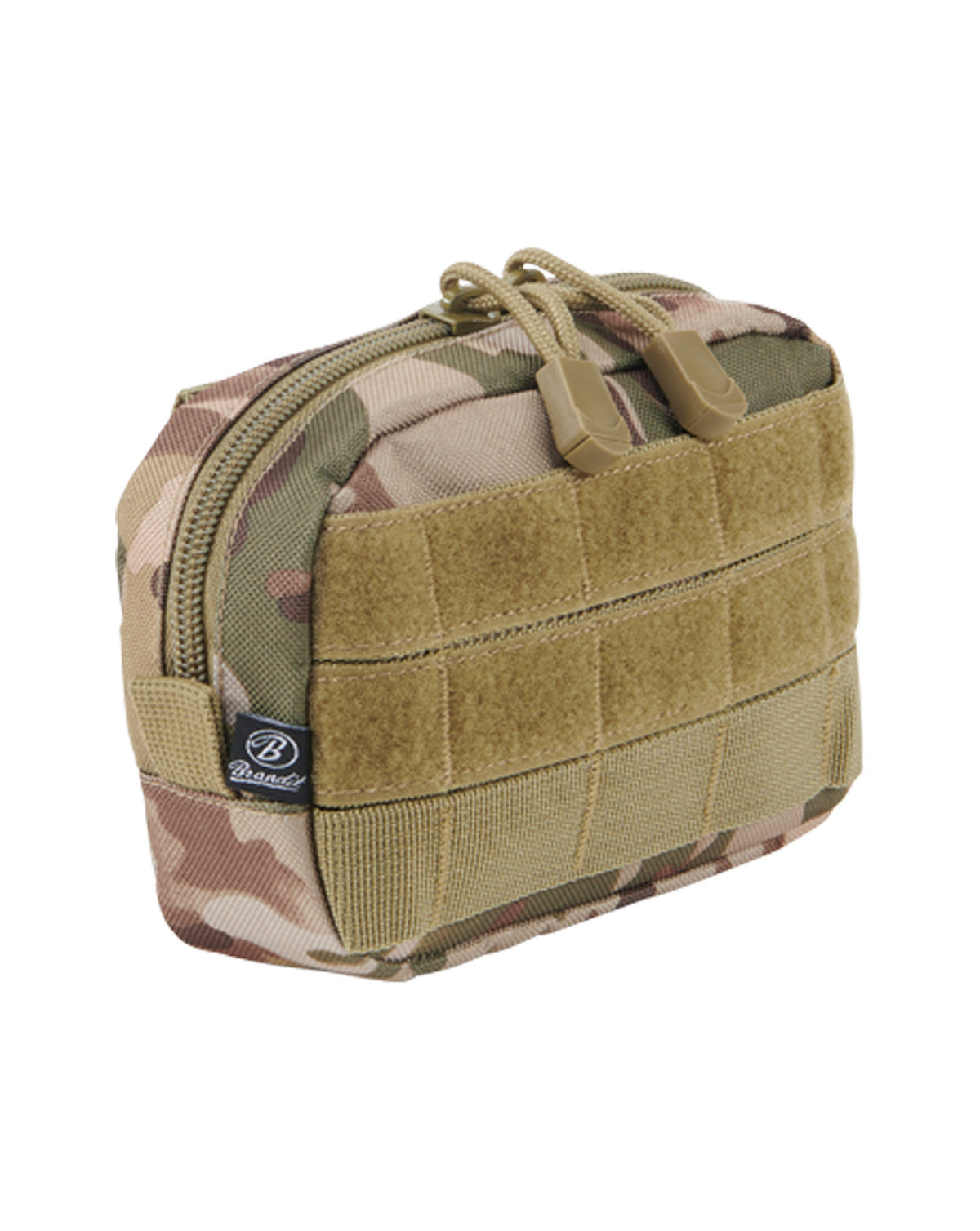 Image of   Brandit MOLLE Compact Pouch (Tactical Camo, One Size)