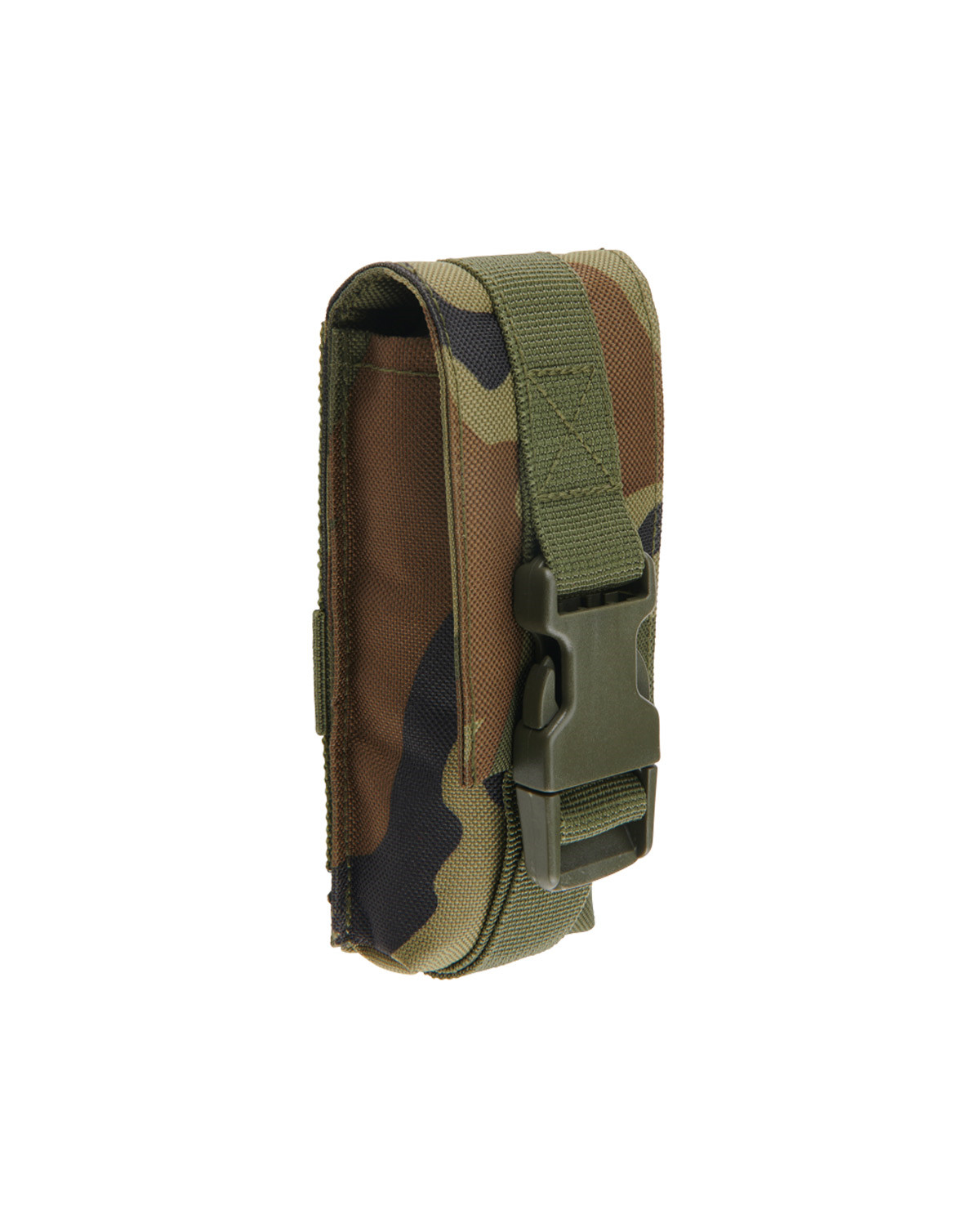 Image of   Brandit Molle Multi Pouch large (Woodland, One Size)