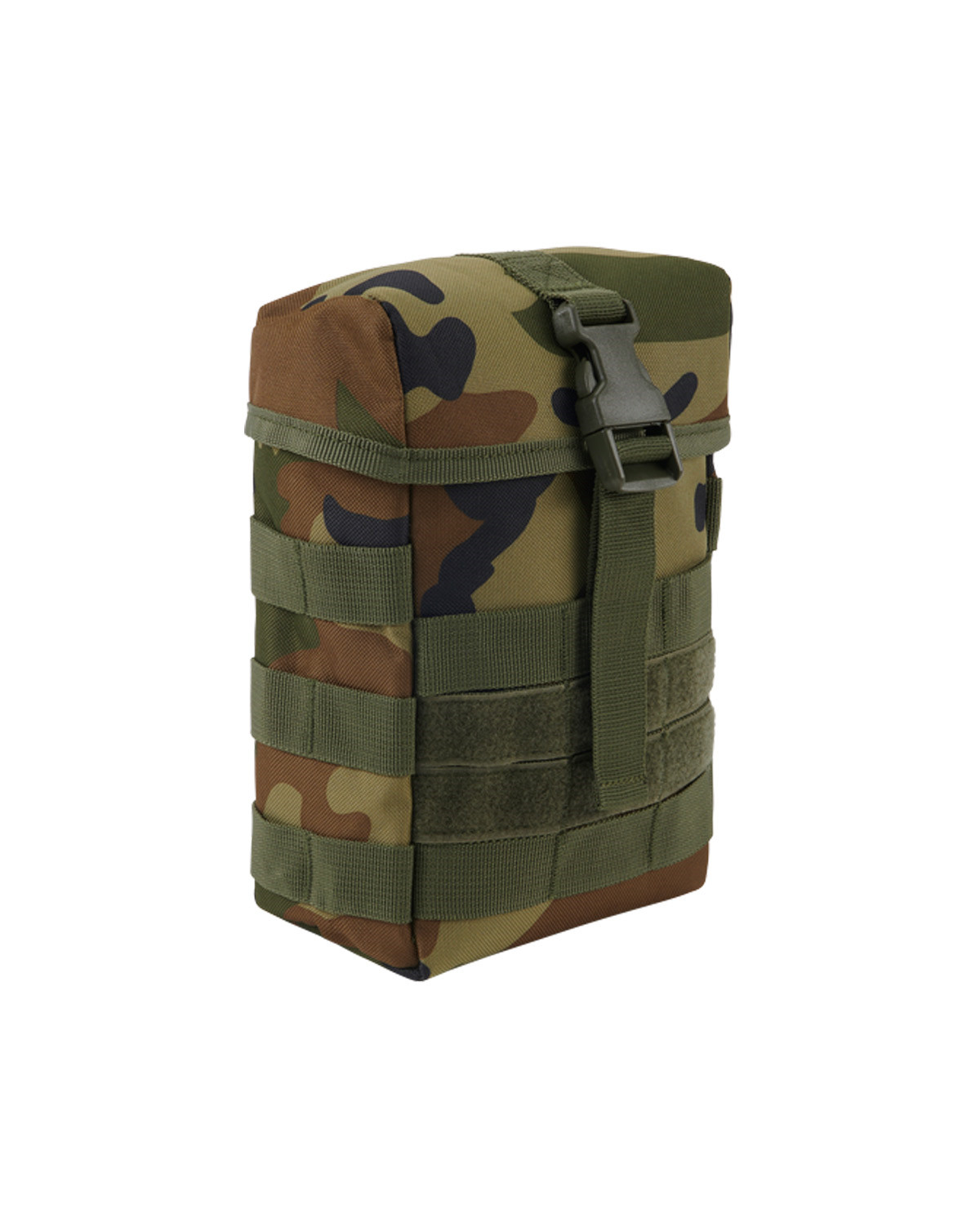 Image of   Brandit MOLLE Pouch Fire (Woodland, One Size)
