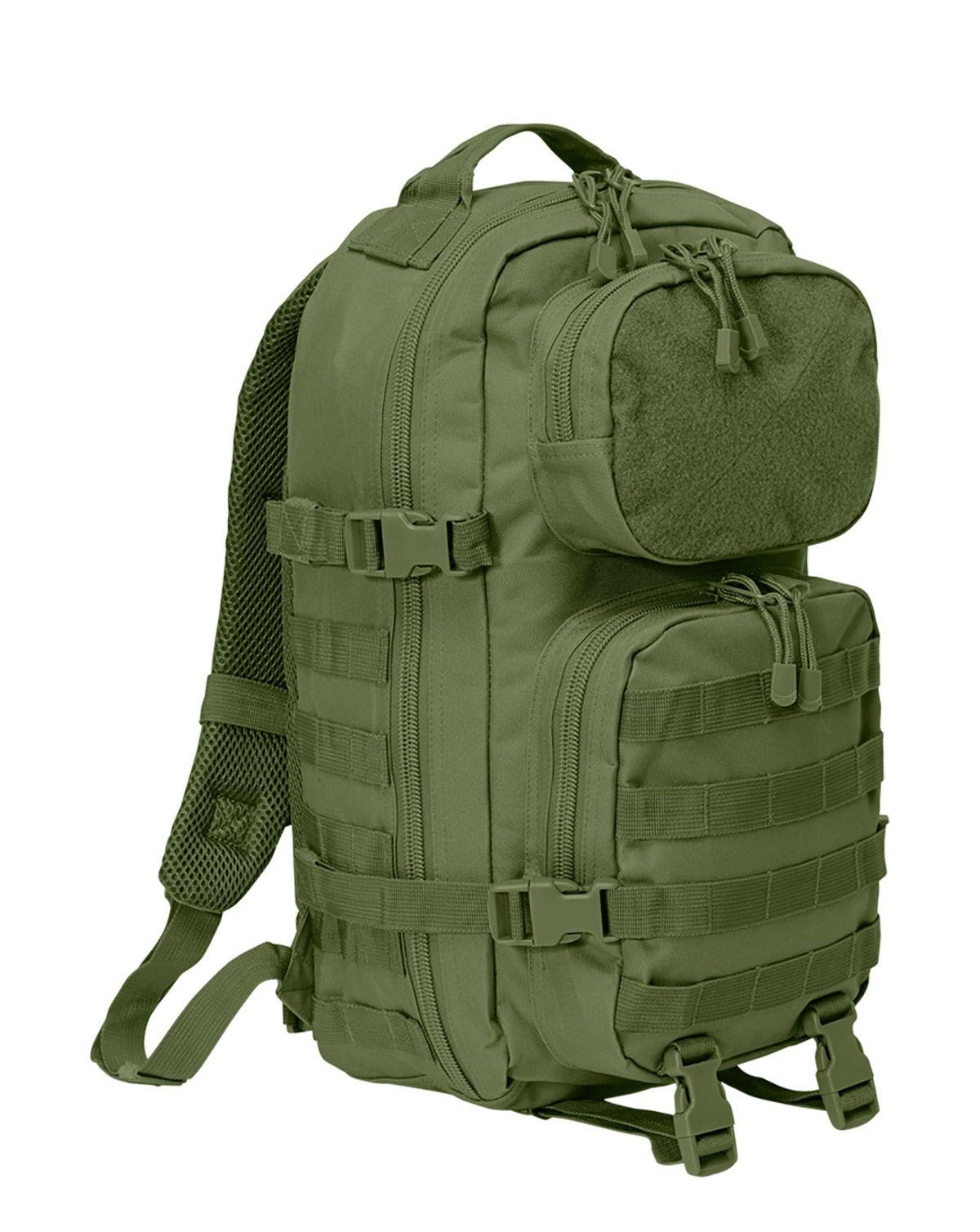 Image of   Brandit Patch Assault Rygsæk - 25 Liter (Oliven, One Size)
