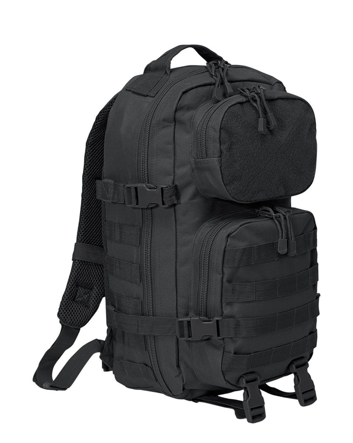 Image of   Brandit Patch Assault Rygsæk - 25 Liter (Sort, One Size)