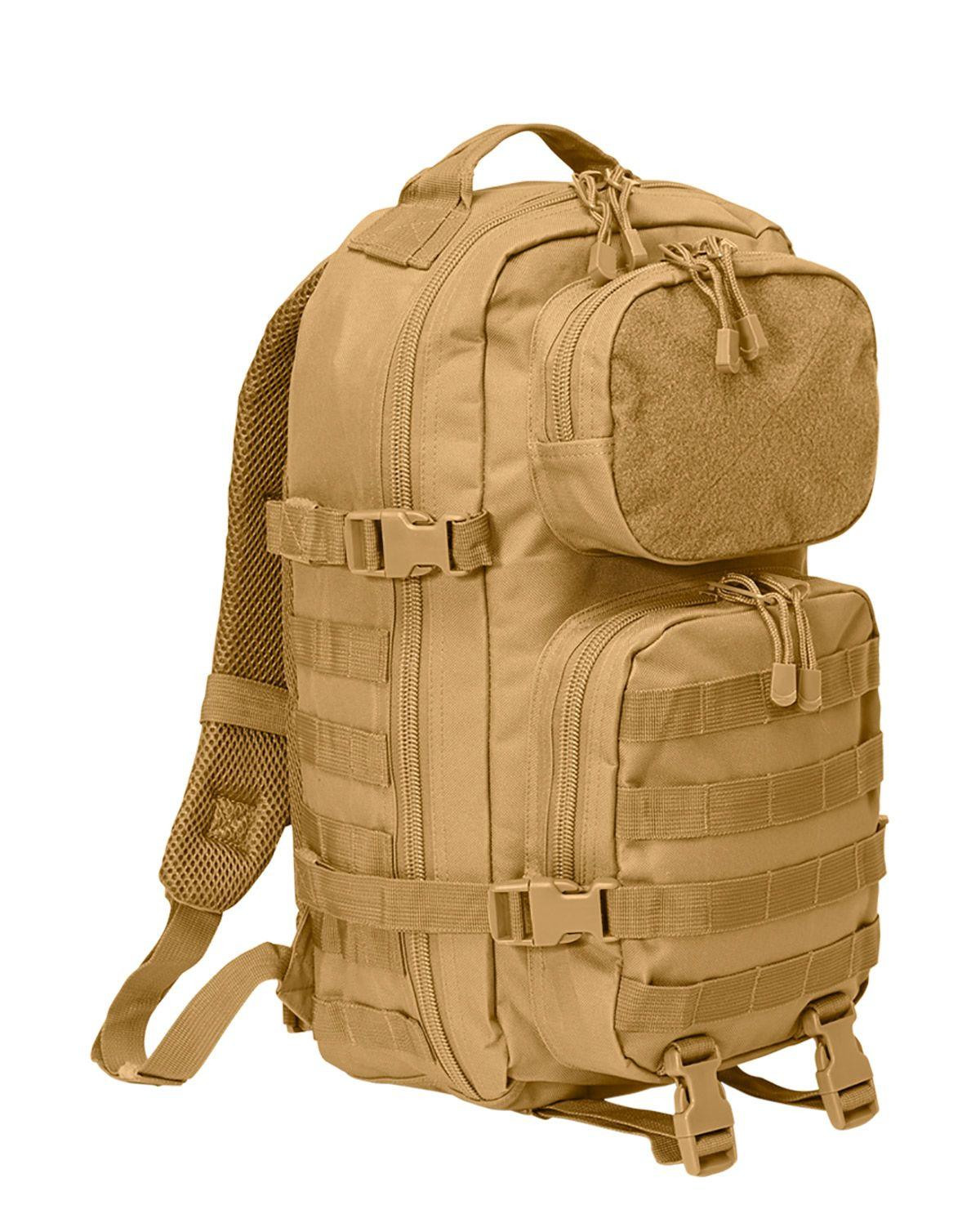 Image of   Brandit Patch Assault Rygsæk - 25 Liter (Coyote Brun, One Size)