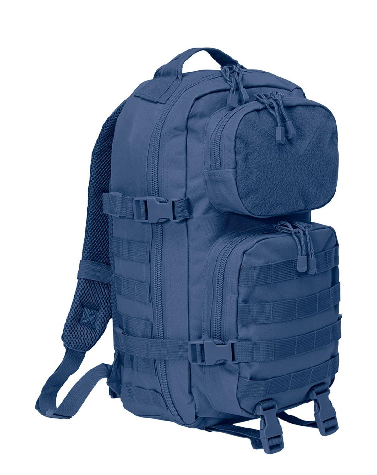Image of   Brandit Patch Assault Rygsæk - 25 Liter (Navy, One Size)