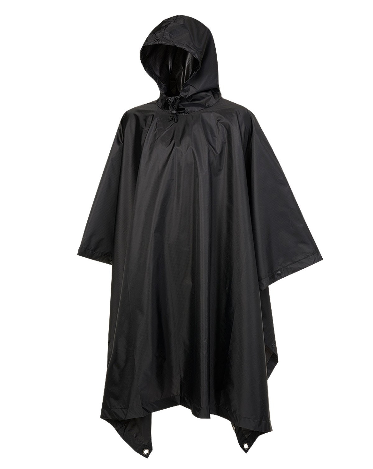 Image of   Brandit Ripstop Poncho (Sort, One Size)